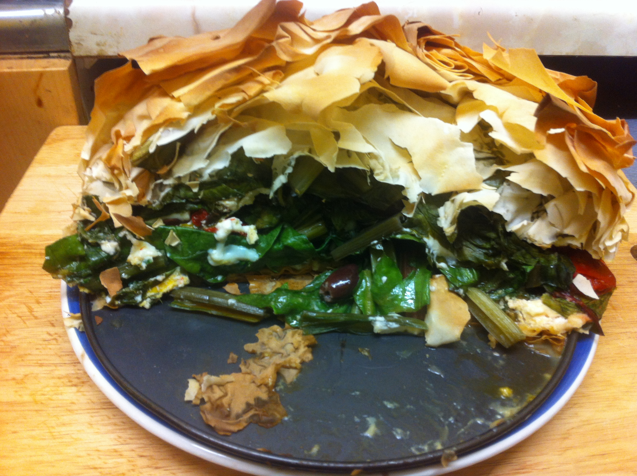Old Favourite: Chard and Kale Pie Recipe | Go Local Food